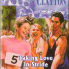 Taking Love In Stride by Donna Clayton Silhouette Romance Book Novel 0373471580