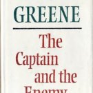 The Captain and the Enemy by Graham Greene Hardcover Ex-Library Book 0886191971