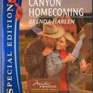 Thunder Canyon Homecoming by Brenda Harlen Special Edition Book Novel 0373655614