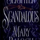 Slightly Scandalous by Mary Balogh Fiction Historical Romance Book Novel 0440241111