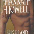 Highland Conqueror by Hannah Howell Historical Romance Fiction Book 0821777572