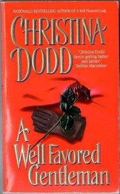 A Well Favored Gentleman by Christina Dodd Historical Romance Novel Book 0380790904