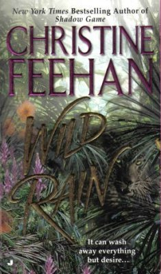 Wild Rain by Christine Feehan Paranormal Romance Fiction Novel Book 0515136824