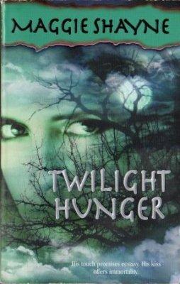 Twilight Hunger by Maggie Shayne Paranormal Romance Novel Book Vampire 1551668866