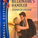 The Billionaire's Handler by Jennifer Greene Special Edition Romance 0373655630