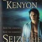 Seize The Night Sherrilyn Kenyon Paranormal Romance Fiction Novel Book 0312992432