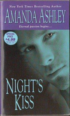 Night's Kiss by Amanda Ashley Paranormal Romance Novel Fiction Book 1420104381