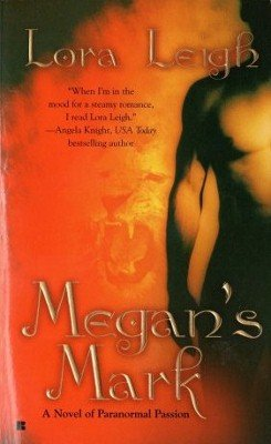 Megan's Mark by Lora Leigh Paranormal Romance Novel Book Feline Breed 0425209644