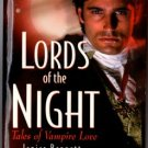 Lords Of The Night by Janice Bennett Sara Blayne Monique Ellis Book 0821773186