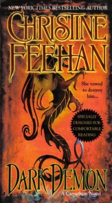 Dark Demon by Christine Feehan Paranormal Romance Fiction Novel Book 0515140880