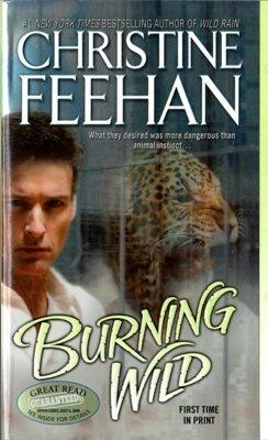 Burning Wild by Christine Feehan Paranormal Romance Fiction Novel Book 0515146234
