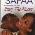 Stay The Night by Chilufiya Safaa Romance Book Fiction Fantasy Novel 0758219741 Used - Like New
