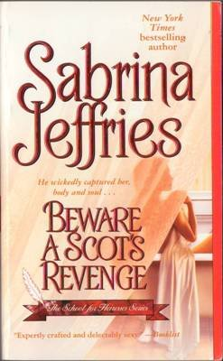 Beware A Scot's Revenge by Sabrina Jeffries Romance Book Novel 1416516107