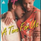 A Time For Us by Cheryl Faye Romance Book Novel Fiction Fantasy 0786004177