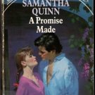 A Promise Made by Samantha Quinn Silhouette Special Edition Ex-Library Book 0373095511
