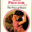 The Price Of Desire by Kate Proctor Harlequin Presents Ex-Library Book 0373115261