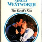The Devil's Kiss by Sally Wentworth Harlequin Presents Ex-Library Book 0373115172