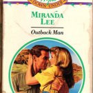 Outback Man by Miranda Lee Harlequin Presents Ex-Library Book Novel 0373115628