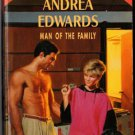 Man Of The Family by Andrea Edwards Special Edition Ex-Library Book 037309809X