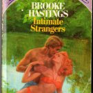 Intimate Strangers by Brooke Hastings Special Edition Romance Book 0671535021