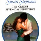 The Greek's Seven-Day Seduction by Susan Stephens Harlequin Presents Book 0373124554