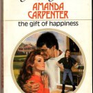 The Gift Of Happiness by Amanda Carpenter Harlequin Presents Ex-Library 0373111274