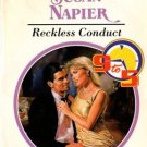 Reckless Conduct by Susan Napier Harlequin Presents Ex-Library Novel Book 0373118473