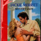 Mystery Lady by Jackie Merritt Silhouette Desire Romance Book Fiction Novel 0373058497
