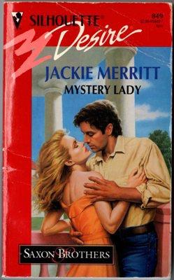 Mystery Lady by Jackie Merritt Silhouette Desire Romance Book Fiction Novel 0373058497