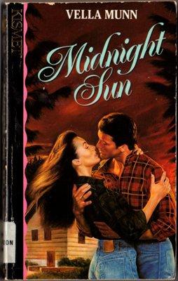 Midnight Sun by Vella Munn Romance Fantasy Fiction Novel Ex-Library Book 1565970500