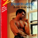 It Had To Be You by Jennifer Greene Silhouette Desire Romance Book Novel 0373057563
