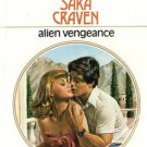 Alien Vengeance by Sara Craven Harlequin Presents Romance Novel Book 037310815X