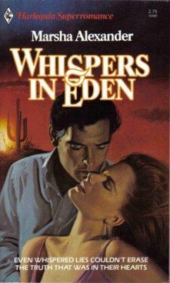 Whispers In Eden by Marsha Alexander Harlequin SuperRomance Novel Book 0373701896