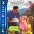 The Baby Surprise by Brenda Harlen Silhouette Special Edition Love Romance Novel Book