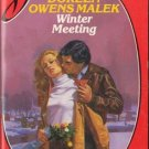 Winter Meeting by Doreen Owens Malek Silhouette Desire Novel Book 0373052405
