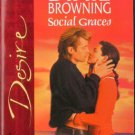 Social Graces by Dixie Browning Silhouette Desire Romance Novel Book 0373765509