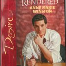 For Services Rendered by Anne Marie Winston Silhouette Desire Novel Book 0373766173