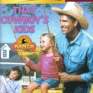 That Cowboy's Kids by Debra Salonen Harlequin SuperRomance Novel Book 0373709102