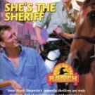 She's The Sheriff by Anne Marie Duquette Harlequin SuperRomance Book 0373707878