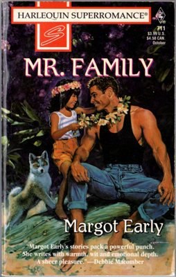 Mr. Family by Margot Early Harlequin SuperRomance Ex-Library Book 0373707118