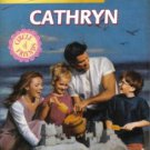Cathryn by Shannon Waverly Harlequin SuperRomance Fiction Novel Book 0373709323