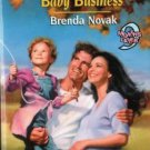 Baby Business by Brenda Novak Harlequin SuperRomance Novel Book 0373709552