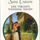 The Virgin's Wedding Night by Sara Craven Harlequin Presents Novel Book 0373126964