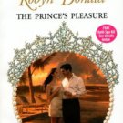 The Prince's Pleasure by Robyn Donald Harlequin Presents Romance Book 0373122748