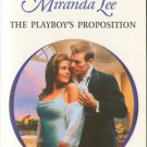 The Playboy's Proposition by Miranda Lee Harlequin Presents Romance Book 0373121288