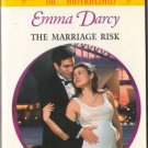 The Marriage Risk by Emma Darcy Harlequin Presents Romance Novel Book Fiction Fantasy Love