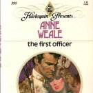 The First Officer by Anne Weale Harlequin Presents Novel Book 0373103956