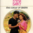 The Colour Of Desire by Emma Darcy Harlequin Presents Novel Book 0373113854