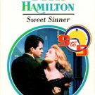 Sweet Sinner by Diana Hamilton Harlequin Presents Romance Fiction Novel Book 0373118414