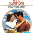 Secret Whispers by Anne Beaumont Harlequin Presents Romance Novel Book 0373113919